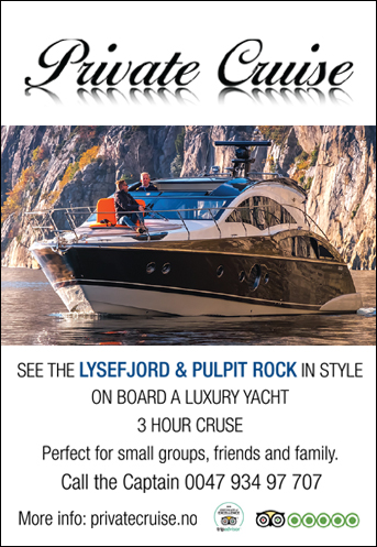 private cruise annonse